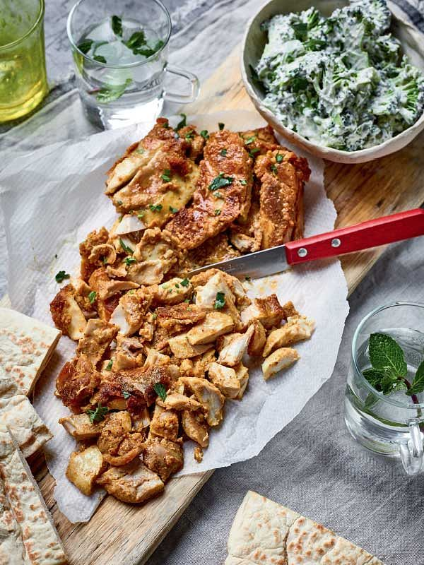 easy recipes christmas period chicken shawarma time to eat nadiya hussain