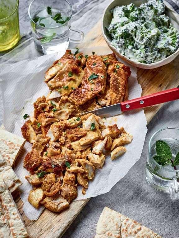 Nadiya Hussain's Chicken Shawarma