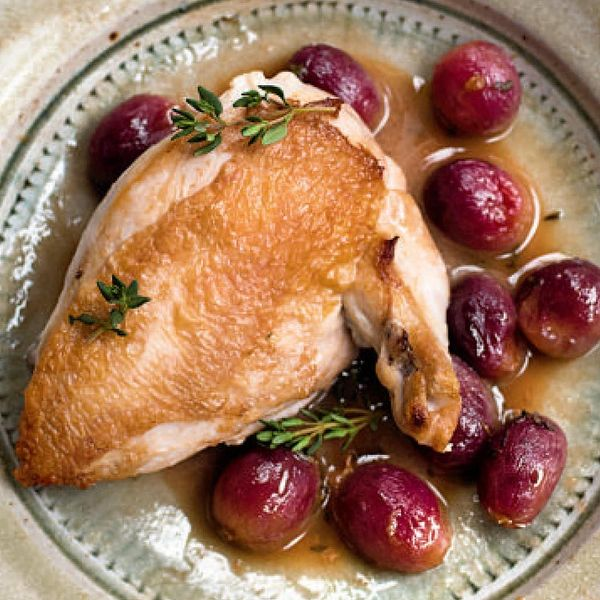 Nigella Lawsons Chicken With Red Grapes And Marsala