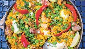 A Spanish-flavoured Rice Dish