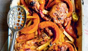 Autumnal Chicken Tray Bake