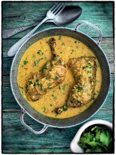 Chicken in a Coconut Sauce (Kukupaka)