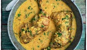 Chicken in a Coconut Sauce (Kukupaka)