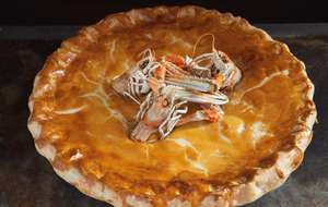 Dublin Bay Prawn and Chicken Pie