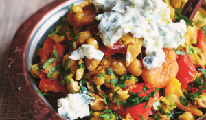 Tagine-inspired Chickpea & Chicken Stew | Healthy Midweek Meal