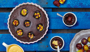 Chocolate Molten Pots and Chocolate Fig Pudding from The Art of Eating Well