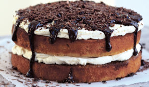 Hazelnut Tiramisu Cake from Bake Me a Cake as Fast as You Can