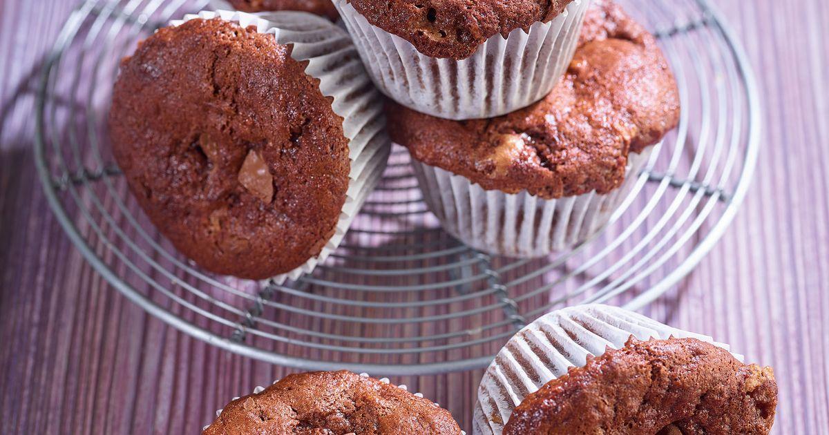 Banana And Chocolate Muffins