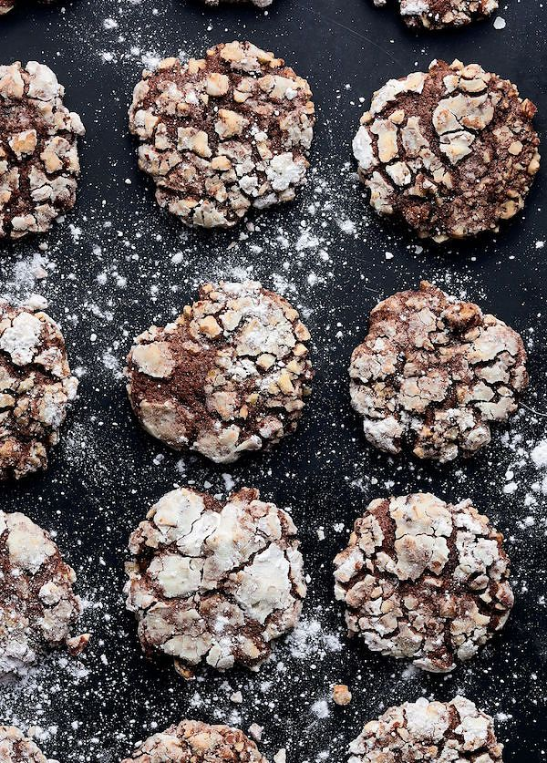 Chocolate, Banana and Pecan CookiesfromSweet by Yotam Ottolenghi & Helen Goh
