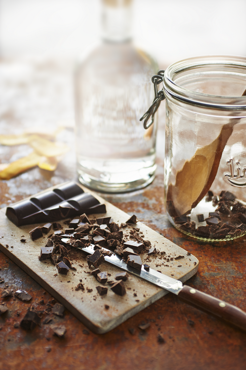 Chocolate Vodka - The Happy Foodie