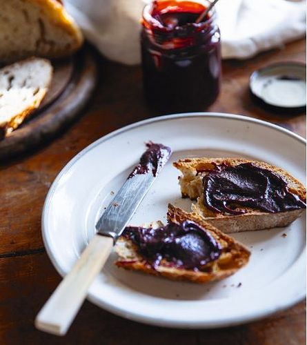 Chocolate and Raspberry Jam from Kylee Newton's The Modern Preserver