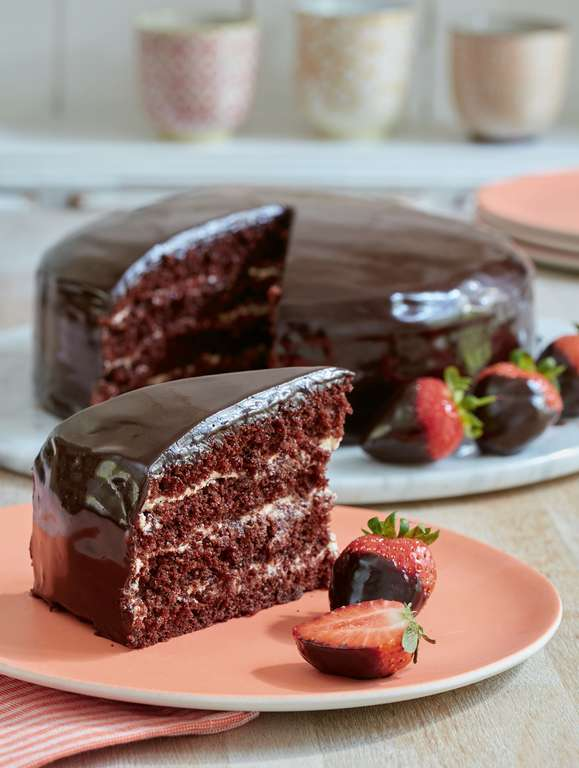 Chocolate Reflection Cake Recipe
