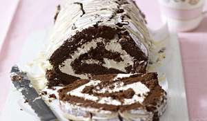 Chocolate and Irish Cream Roulade