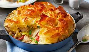 Chris Bavin Chicken Pie | One-pan Midweek Recipe