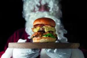 Hawksmoor's Christmas Burger