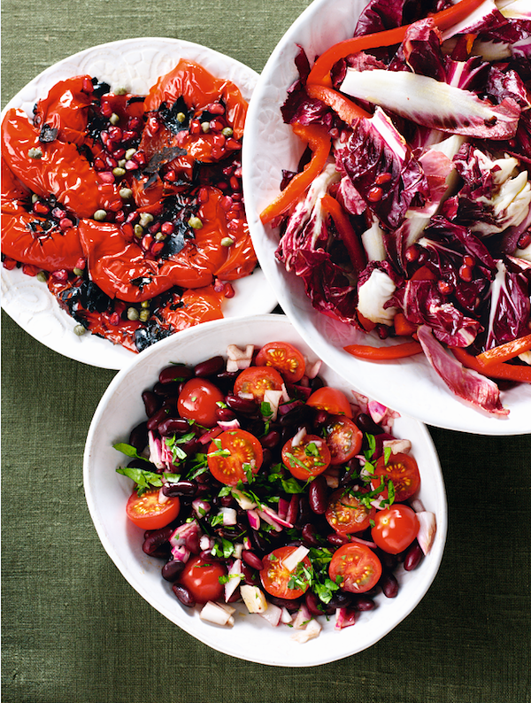 vegetarian christmas starters christmas salad nigella