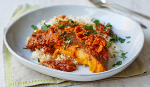 Bangladeshi Cod and clementine from Nadiya's Kitchen