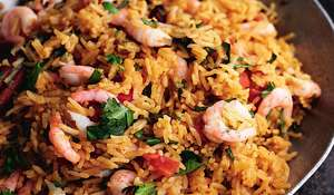 North Atlantic Prawn Pilaf