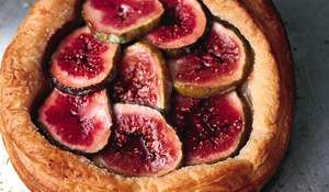 Light Fig Tarts with Crème Fraîche