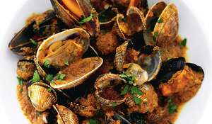 Mussel, Cockle and Clam Masala