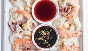 Rick Stein Seafood Tempura