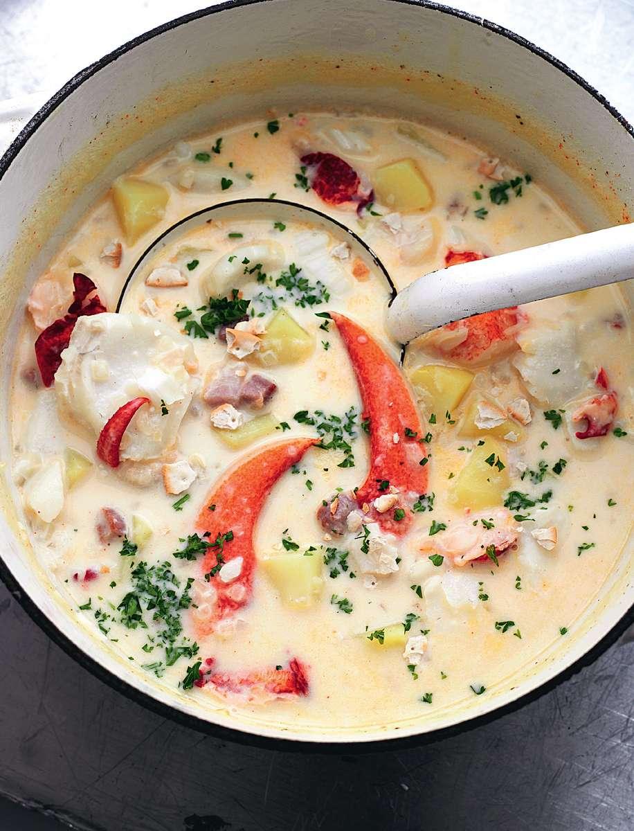 Food Network Seafood Chowder