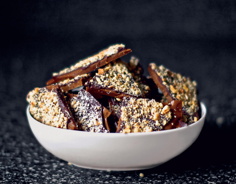 Smitten Kitchen Cookbook coffee toffee - the happy foodie