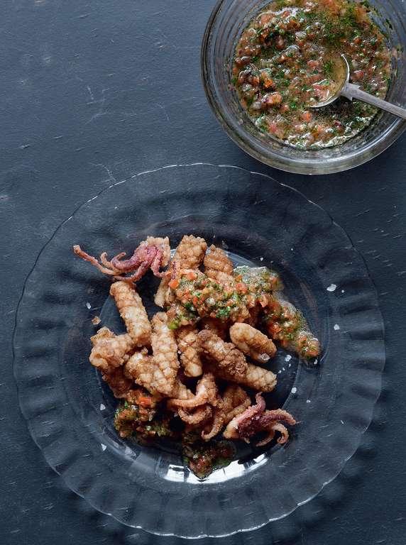Lebanese Spiced Squid