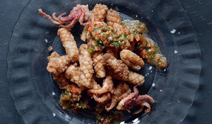 Lebanese Spiced Squid