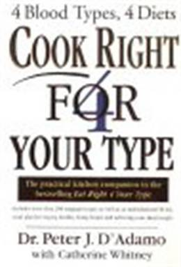 Cover of Cook Right 4 Your Type