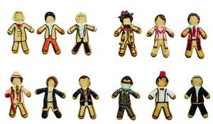 Doctor Who Character Cookies