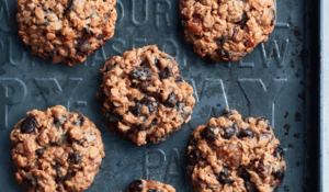 Apricot, Pecan, Raisin and Chocolate Cookies