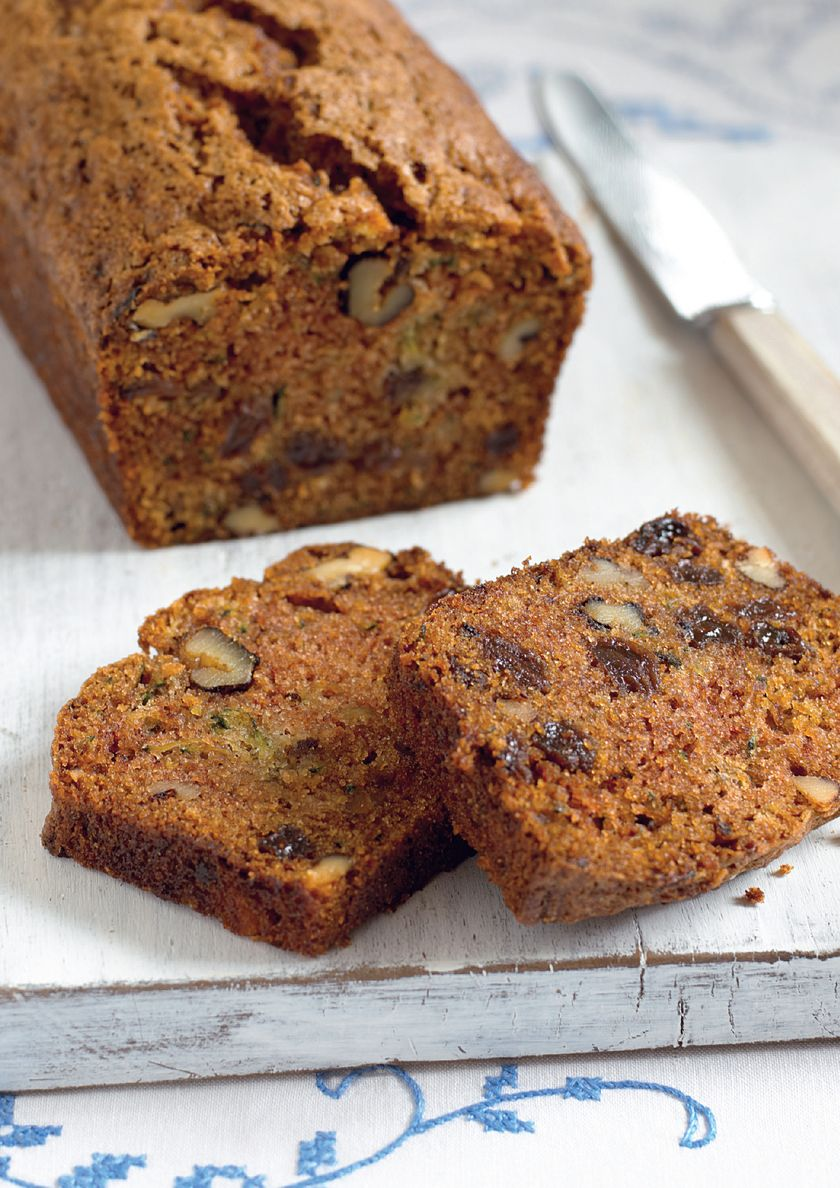 Easy Baking Recipes | Mary Berry Courgette Loaf Cake