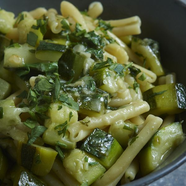 Pasta With Courgettes