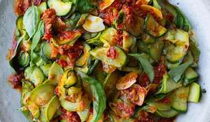 Ottolenghi Courgettes with Harissa & Lemon|Easy Summer Side