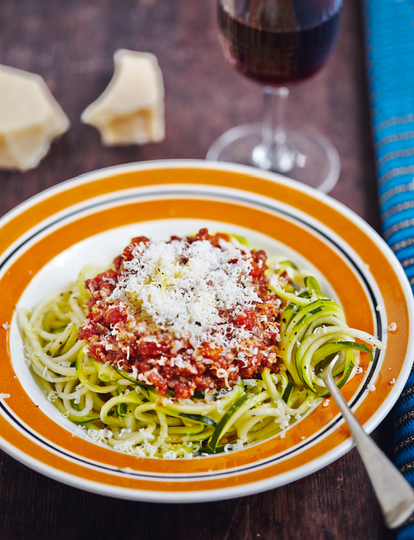 Beef Ragu and Courgetti