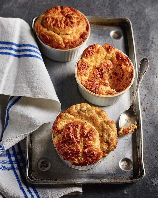 rick stein secret france Crab and Emmental Soufflé