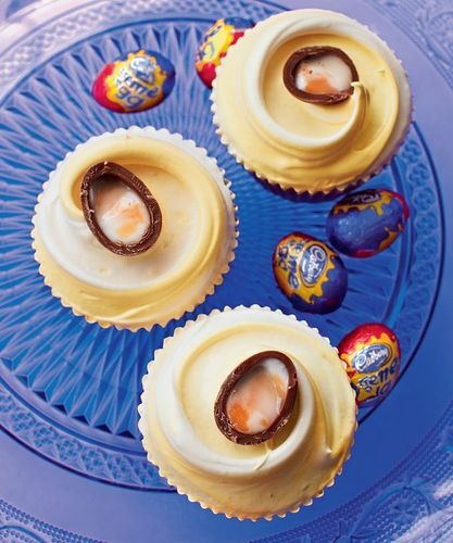 Creme Egg Cupcakes from Primrose Bakery Everyday