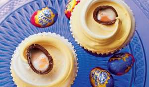 Cadburys Creme Egg Cupcakes from Primrose Bakery Everyday