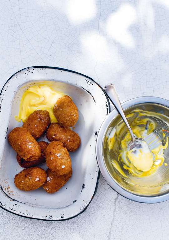 Sweet Potato and Chorizo Croquettes