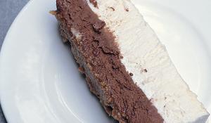 Chocolate and Vanilla Semifreddo