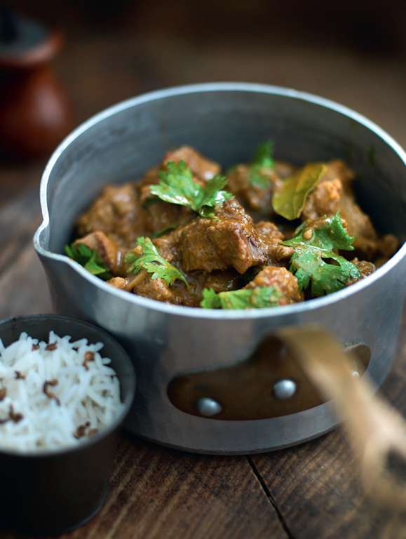 Kashmiri-Style Rich Lamb Curry