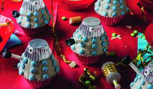 Dalek Cupcakes from Doctor Who: Official Cookbook