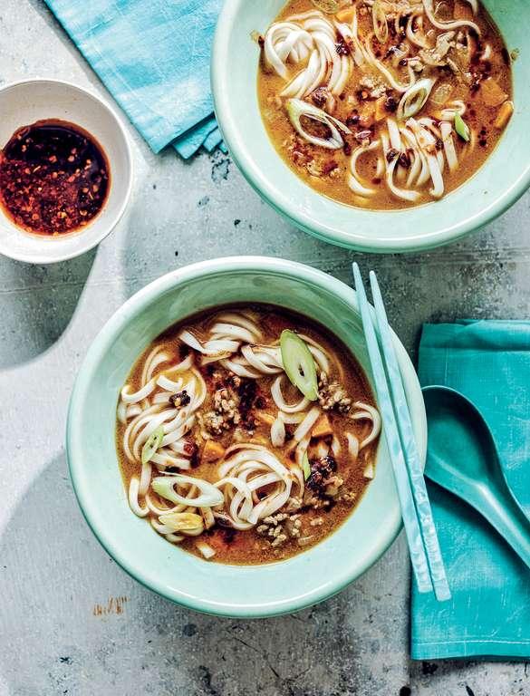 Dan Dan Noodle Soup with Lamb
