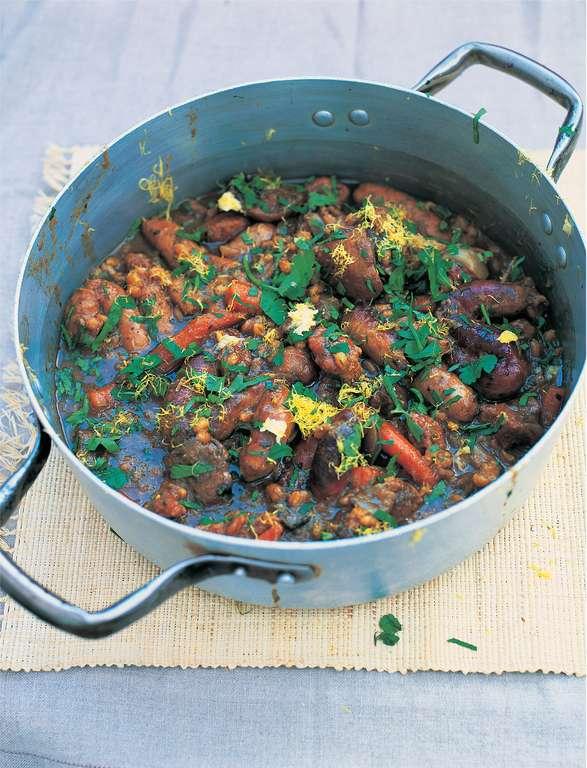 Jamie Oliver's Dark, Sticky Stew