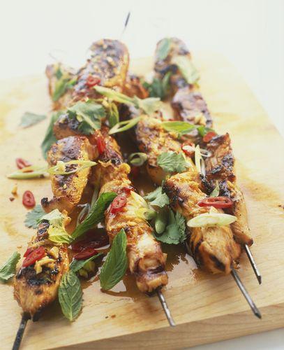 Spicy Pork Satay