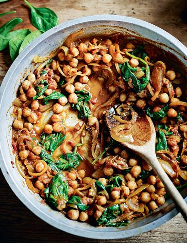 Chana Palak Curry from Dean Edwards' Feelgood Family Food
