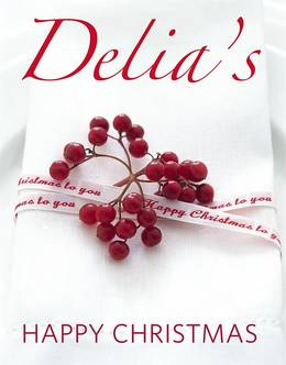 Cover of Delia's Happy Christmas