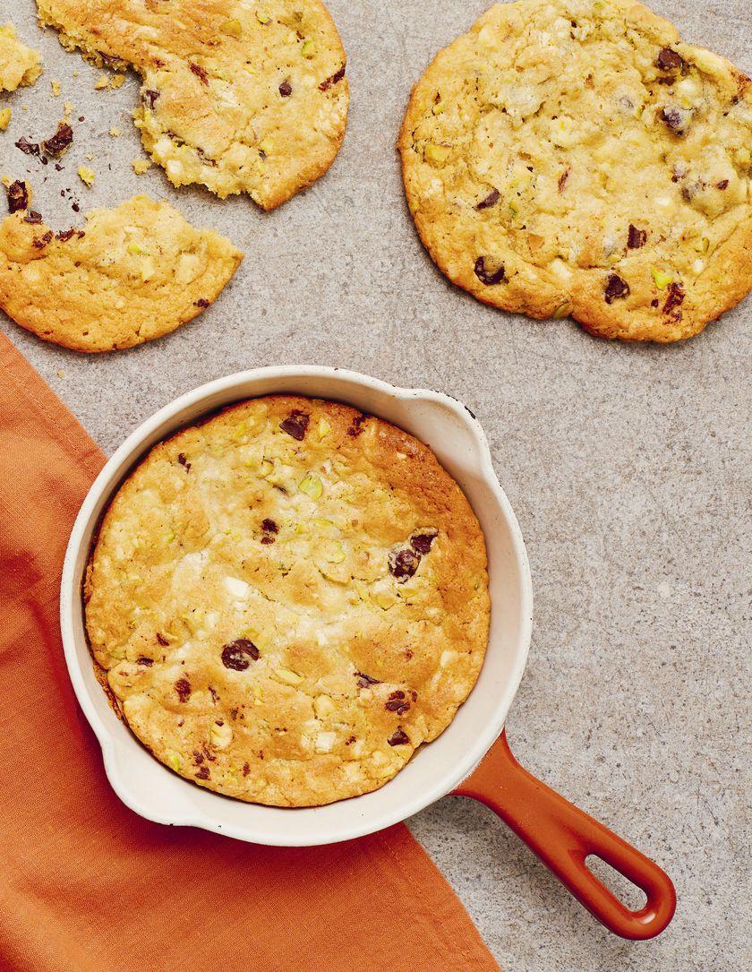 Candice Brown Comfort Food Recipes   Oozey, Gooey Double Chocolate One-Pan Cookies