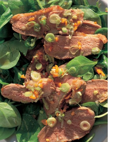 Gingery-Hot Duck Salad